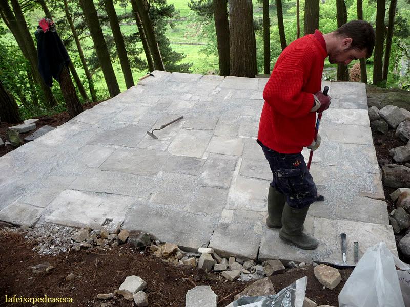 enllosant la plataforma amb grainstone