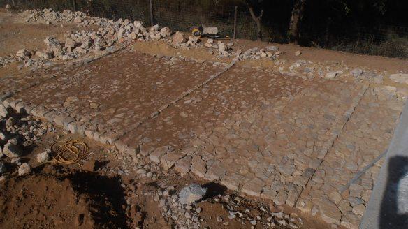 empedrat tipus via romana