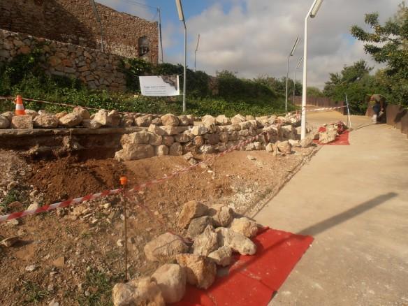 Mur a Castelldefels