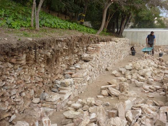 Segon mur de pedra seca