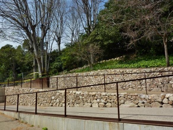 els dos murs rehabilitats